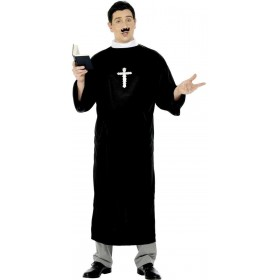 Priest Fancy Dress Costume Mens (Vicars/Nuns)