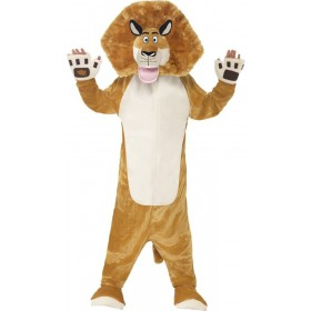 Childs Madagascar Alex The Lion Onesie Fancy Dress Costume