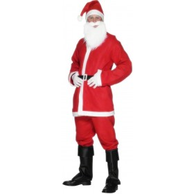 Santa Suit Costume-Large Fancy Dress Costume Mens (Christmas)