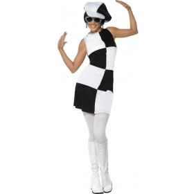 1960'S Party Girl Fancy Dress Costume Ladies (1960S)