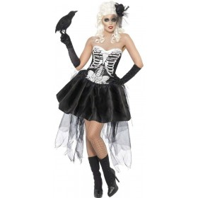 Skelly Von Trap Fancy Dress Costume Ladies (Halloween)