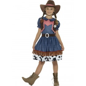 Texan Cowgirl Costume Fancy Dress