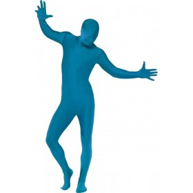 Second Skin Suit Fancy Dress Costume