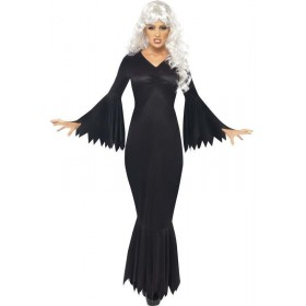 Midnight Vamp Fancy Dress Costume