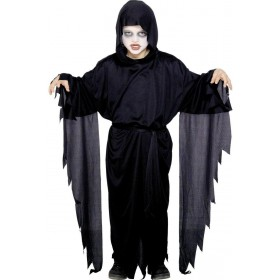 Screamer Ghost Robe Fancy Dress Costume Girls (Halloween)