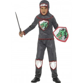 Deluxe Knight Costume Fancy Dress