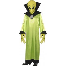 Alien Lord Fancy Dress Costume Mens Size 38-40 S (Sci-Fi)