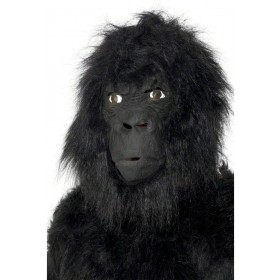 Gorilla Mask - Fancy Dress (Animals)