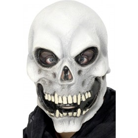 Skull Mask - Fancy Dress Mens (Halloween)