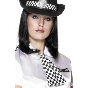 Policewoman'S Scarf - Fancy Dress Ladies (Cops/Robbers)