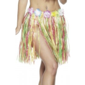 Hawaiian Hula Skirt - Fancy Dress Ladies (Hawaiian)