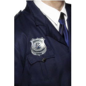 Metal Police Badge - Fancy Dress (Cops/Robbers)