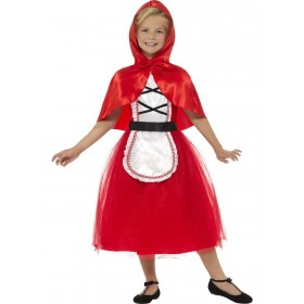 Deluxe Red Riding Hood Costume Fancy Dress