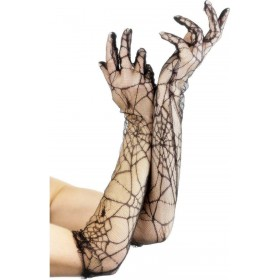 Lace Gloves - Fancy Dress Ladies