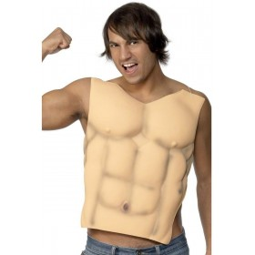 Male Eva Chest - Fancy Dress Mens