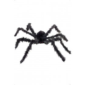 Giant Hairy Spider With Light Up Eyes - Fancy Dress (Halloween)