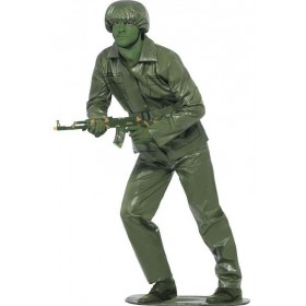 Men'S Army Toy Soldier Fancy Dress Costume