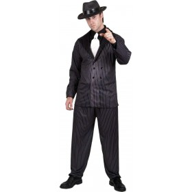 Gangster Fancy Dress Costume Mens (1920S)