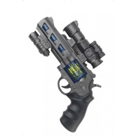 Space Cop Revolver (Fancy Dress Guns)