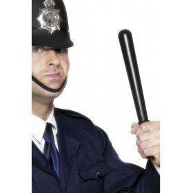 Squeaking Policeman'S Truncheon - Fancy Dress Mens (Cops/Robbers)