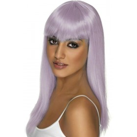 Glamourama Wig Fancy Dress Ladies - Lilac