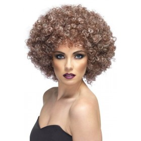 Afro Wig (1970S Fancy Dress Wigs) - Brown