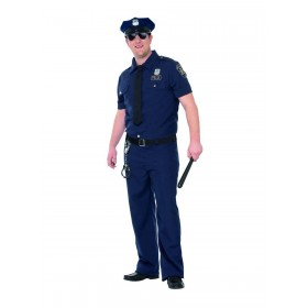 Curves NYC Cop Costume Fancy Dress