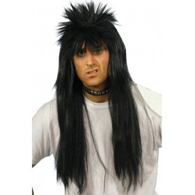 Punky Wig - Fancy Dress (1980S) - Black