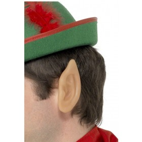 Soft Vinyl Pointed Elf Ears - Fancy Dress (Christmas)