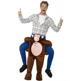 Piggyback Monkey Costume Fancy Dress