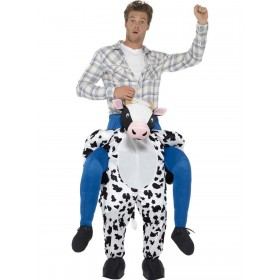 Piggyback Cow Costume Fancy Dress