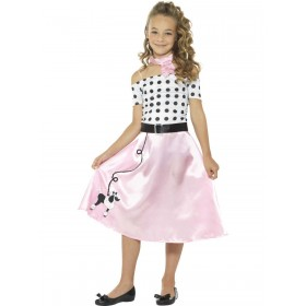 50s Poodle Girl Costume Fancy Dress