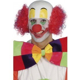 Clown Rubber Top Wig - Fancy Dress (Clowns) - Red