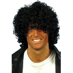Afro Wig - Fancy Dress (1980S) - Black