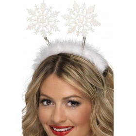 Snowflake Head Boppers - Fancy Dress (Christmas)