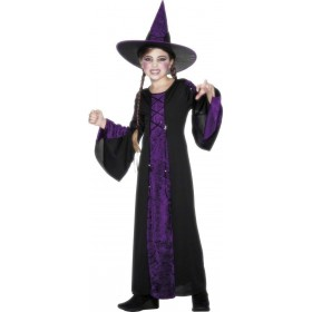 Bewitched Fancy Dress Costume Girls (Halloween)