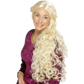Guinevere Wig - Fancy Dress Ladies - Blonde
