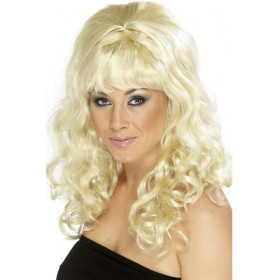 Beehive Beauty Wig - Fancy Dress Ladies (1960S) - Blonde