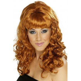 Beehive Beauty Wig - Fancy Dress Ladies (1960S) - Auburn