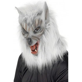 Wolf Mask - Fancy Dress Mens (Halloween)