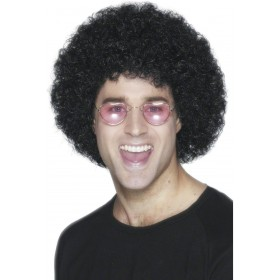 Afro Wig Black - Fancy Dress (1970S)