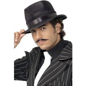 Indestructible Fedora Hat - Fancy Dress Mens (1920S)
