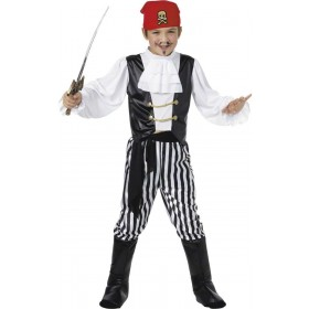 Pirate Fancy Dress Costume Boys (Pirates)