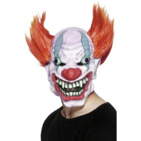 Clown Mask - Fancy Dress Mens (Halloween)