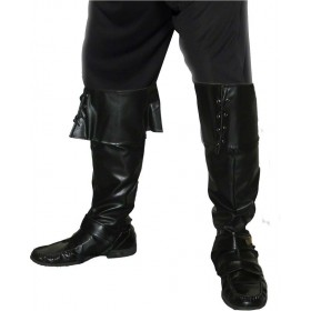 Pirate Bootcovers - Fancy Dress Mens (Pirates)