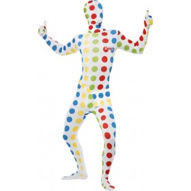 Mens Twister Second Skin Fancy Dress Costume
