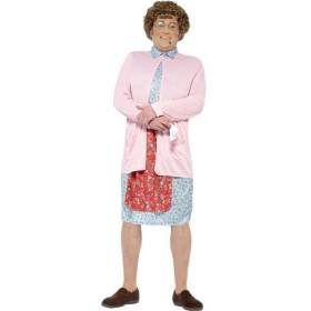 Men'S Official Mrs Brown Tv Show Fancy Dress Costume