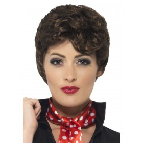 Grease Rizzo Wig Fancy Dress Accessory