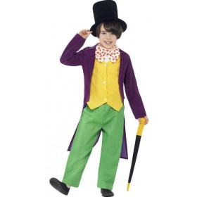 Boys Roald Dahl Willy Wonka Fancy Dress Costume