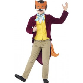 Boys Roald Dahl Fantastic Mr Fox Fancy Dress Costume
